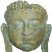 Buddha Mask 3D Wall Plaque