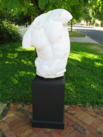 Apollo Torso On Plinth
