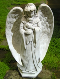 Angel Mother and Child