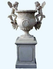 Angels Urn & Base