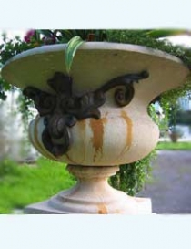 Aurelius Urn with cast handles