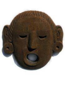Aztec Stone Mask