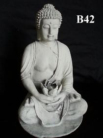 Buddha Holding Lotus Flower