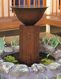 Bowl Fountain Hardwood