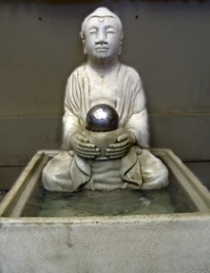Buddha with Ball