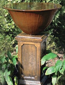 Cast Iron Bowl Fountain