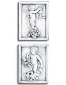 Cherub Boy Plaques