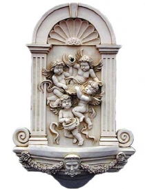 Cherub Wall Fountain
