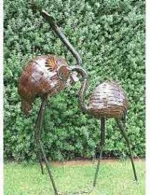 Crested crane c-type