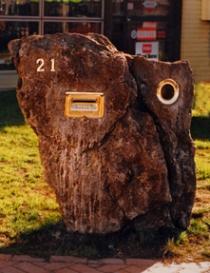 Custom Rock Letterbox 2