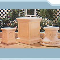 Dover, Birmingham & Roseland Pedestals