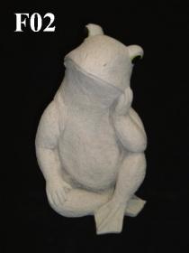 Sitting Frog, Thinking