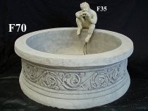 67cm Round Decorative Pond
