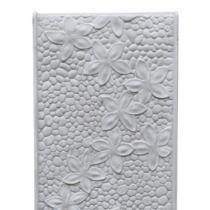 Frangipani Water Feature Wall Panel - White
