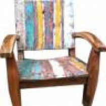 Boatwood Chair with Arms