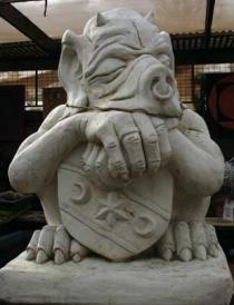 Gate House Pig
