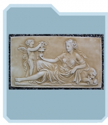 Lady Plaque