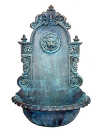 Lionhead Wall Fountain