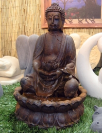 Lotus Buddha Fountain
