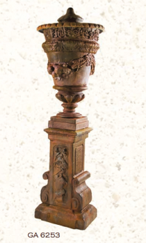 Montenegro Urn And Plinth