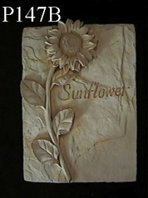 Single Flower Plaque, Sunflower