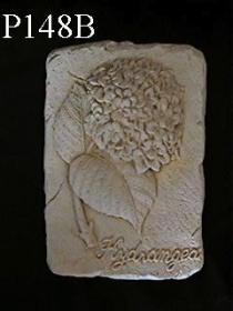 Medium Flower Plaque, Hydrangea