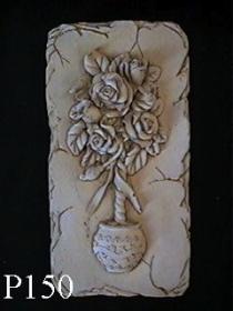 Rose in Pot Plaque