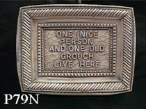 One Nice Person Plaque