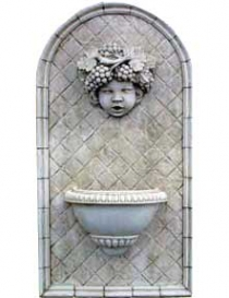 Putti Wall Fountain