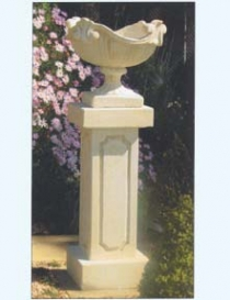 Serenade Urn on Theodore Pedestal