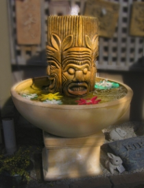 Small Aztec Fountain