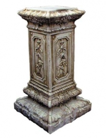 Tall Fancy Pedestal