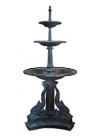 Three Bowl Dolphin Fountain