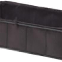 Felt Planter Rectangle with Steel Frame - Large
