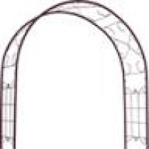 Scroll Urban Farmer Premium Garden Arch