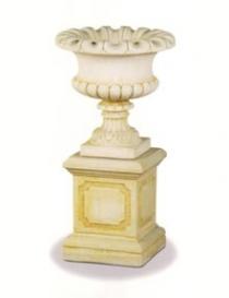 Waterloo Urn & Bradford Pedestal