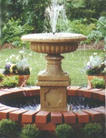 Wide Urn Fountain
