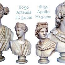 Artemis & Apollo Busts