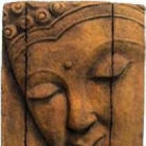 Abstract Buddha Plaque