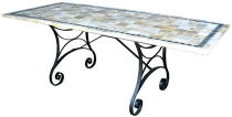 Code CE - Horizon Slate Mosaic Table