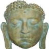 Buddha Mask 3D Wall Plaque