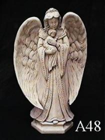 Angel, Mother & Child