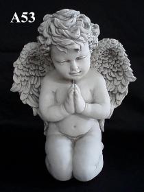 Large Angel, Kneeling Praying