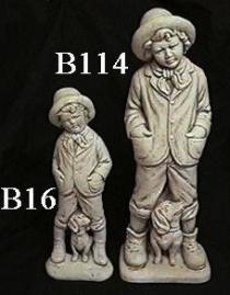 Boy & Dog Large