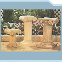 Corinthian, Olympus & Athena Pedestals