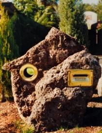 Custom Rock Letterbox 1