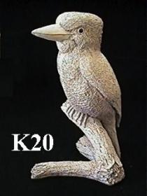 Kookaburra on Stump