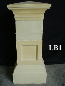 Letterbox, Block Pillar