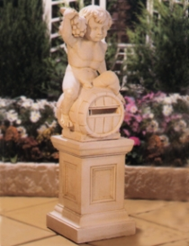 Letterbox Boy on Kent Pedestal