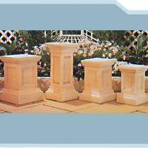 Plymouth, Bristol, Kent & Coventry Pedestals